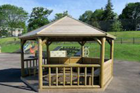 school education timber shelter from M&M Timber
