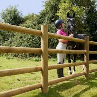 Prestige Equestrian Paddock Timber Fencing M&M Timber