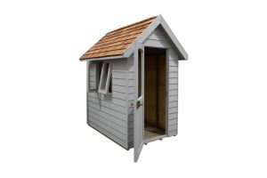 FRA46GYIN_5 - 6x4 Retreat Shed - Pebble Grey