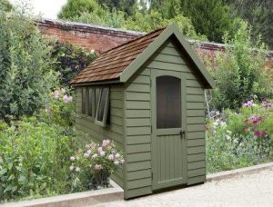 8x5 Retreat Shed - Moss Green