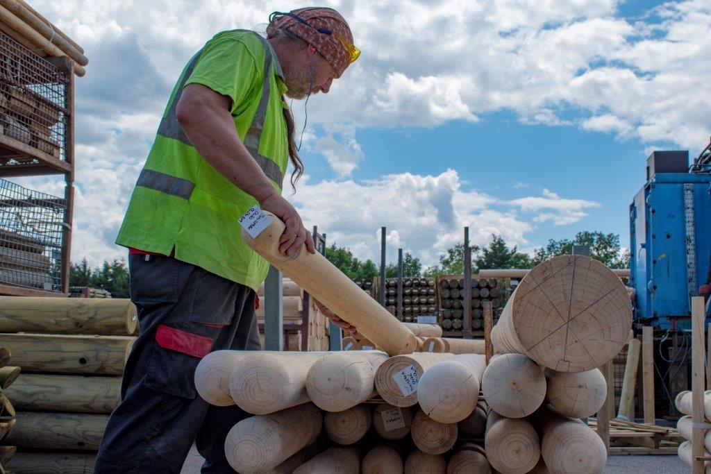 bollards timber