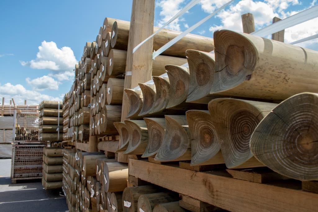 playguard machine round timber